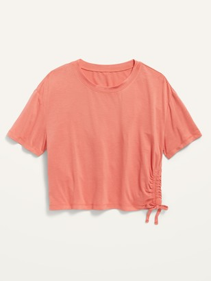 Old Navy Luxe Short-Sleeve Side-Tie Top for Girls