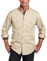 Wrangler Men's Painted Desert Basic Work Western Shirt