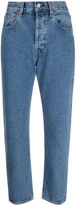 Levi's Made & Crafted Mid-Rise Slim-Cut Jeans