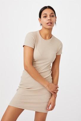 Cotton On Essential Short Sleeve Midi Dress