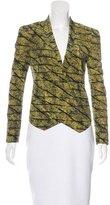 Rebecca Minkoff Silk Printed Blazer