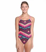 Nike Swim Electric Rio Cut Out Tank One Piece Swimsuit 8114699