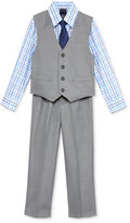 Nautica Little Boys' 3-Pc. Sharkskin Vest, Shirt & Pants Set
