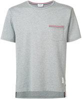 Thom Browne patch pocket T-shirt - men - Cotton - 1