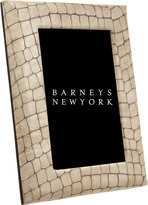 "Barneys New York 4"" X 6"" Croc Frame"