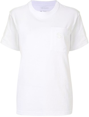 Sacai double pocket oversized T-shirt