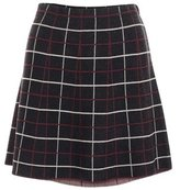 Minnie Rose Plaid Mini Skirt