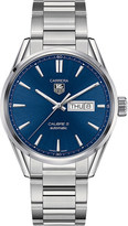Tag Heuer Carrera stainless steel blue gents