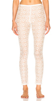 Stella McCartney Cotton Lace Leggings in Neutrals.