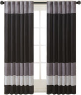 Madison Park Infinity Polyoni Pintuck-Striped Rod-Pocket Curtain Panel