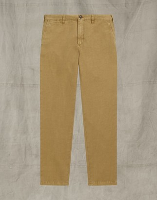Belstaff OFFICER CHINO TROUSERS Brown