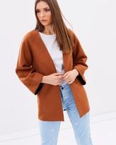 Warehouse Short Bonded Swing Coat