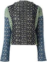Forte Forte jacquard knit jumper - women - Cotton/Polyamide/Spandex/Elastane/Wool - 0