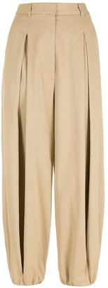 Nk Pleated Straight Trousers