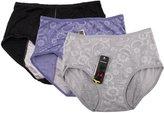 YOYI FASHION Women Menstrual Period Briefs Jacquard Easy Clean Panties Multi Pack (S, )