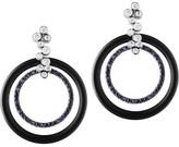 Black Diamond Jan Logan 18ct Onyx Round La Rambla Earrings