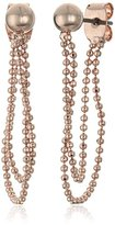"Anne Klein Earmazing"" Rose Gold-Tone Threader Earrings"