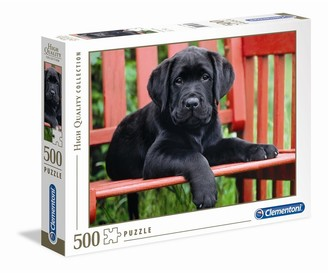 Clementoni Puzzle The Black Dog - 500pcs