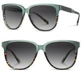 Shwood Women's 'Mckenzie' 57Mm Sunglasses - Blue Opal/ Titanium/ Grey
