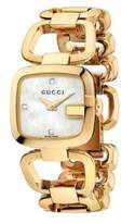 Gucci G Collection Goldtone Gold PVD Stainless Steel Watch