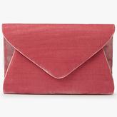 John Lewis Fiona Faux Velvet Clutch Bag
