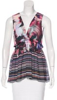 Clover Canyon Abstract Print Sleeveless Top