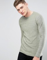 ONLY & SONS Knitted Sweater with Raw Curved Hem