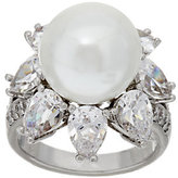 Elizabeth Taylor The South Sea-Style Simulated Pearl Ring
