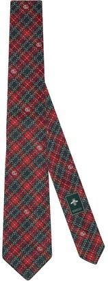 Gucci Embroidered Tie