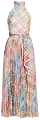 Zimmermann Charm Sleeveless Sunray Picnic Midi Dress