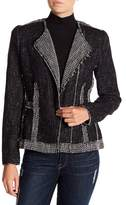 Rebecca Taylor Structure Tweed Blazer