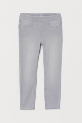 H&M Denim Leggings - Gray