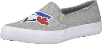 Keds Women's Double Decker MLB Blue Jays Grey Sneakers 10.0 M US