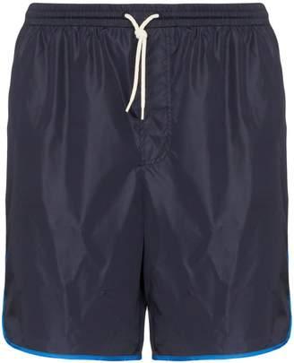 Gucci GG side-stripe swim shorts
