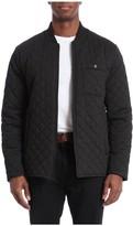 Bagatelle Men's Sport Water-Resistant Quilted Bomber Jacket