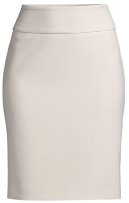 Peserico Compact Double Cloth Pencil Skirt