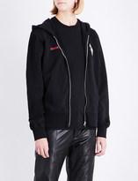 Yang Li Samizdat cotton-jersey hoody