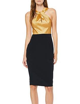 APART Fashion Women's Colorblocking Dress Party,16 (Size: )