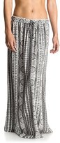 Roxy Junior's Solid Air Skirt Printed Maxi Skirt