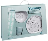 Done by Deer Dinner Set Happy Dots Blue Giftbox