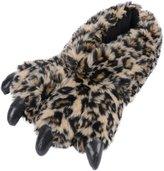 Simplicity Winter Warm Animal Funny Fuzzy Claw Fleece Slippers