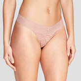 Woen's All Over Lace Thong - AudenTM
