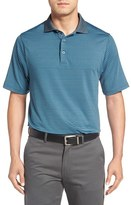 Bobby Jones Men's 'Edge Stripe - Xh20' Stretch Golf Polo
