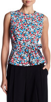 Nine West Sleeveless Waist Tie Blouse
