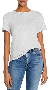 Rebecca Taylor La Vie Embroidered Short-Sleeve Tee