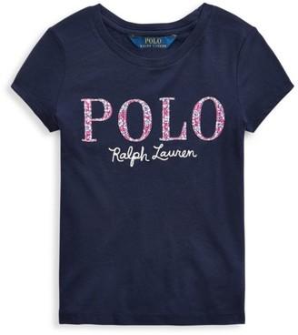 Ralph Lauren Little Girl's & Girl's Polo T-Shirt