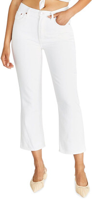 ÉTICA Josie Cropped Flared Jeans
