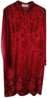Genny Burgundy Dress for Women