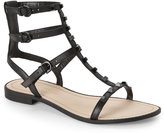 Rebecca Minkoff Black Georgina Studded Gladiator Sandals