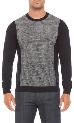 Emporio Armani Zigzag Block Sweater